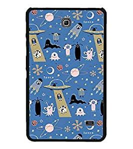 Miscellaneous Pattern 2D Hard Polycarbonate Designer Back Case Cover for Samsung Galaxy Tab 4 :: Samsung Galaxy Tab 4 T231