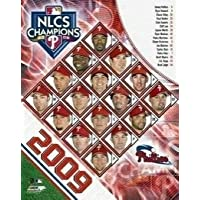 Philadelphia Phillies MLB 8x10 Photograph 2009 NLCS Champions Team Collage