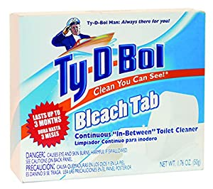Amazon Com Ty D Bol In Tank Bleach Toilet Bowl Cleaner