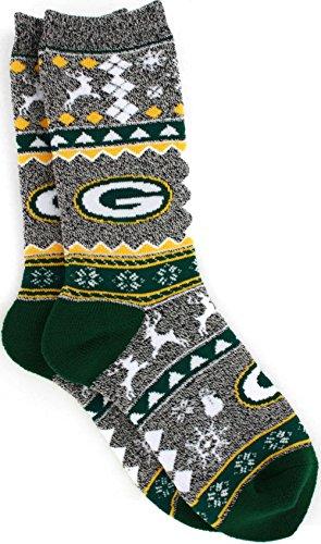 Christmas Socks Green Bay