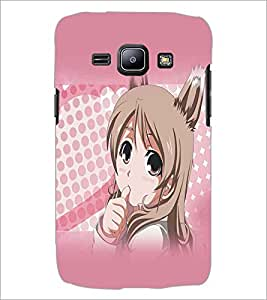 SAMSUNG GALAXY J1 BEAUTIFUL GIRL Designer Back Cover Case By PRINTSWAG