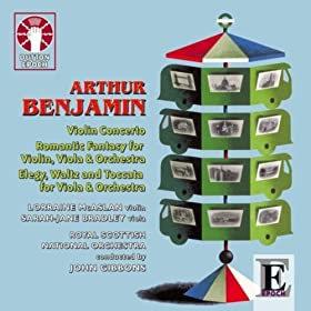 Arthur Benjamin: Music for Violin, Viola & Orchestra