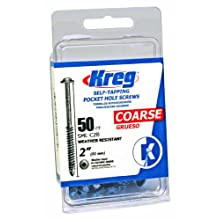 Kreg SML-C2B-50 Blue-Kote WR Pocket Screws - 2-Inch, 50 pack