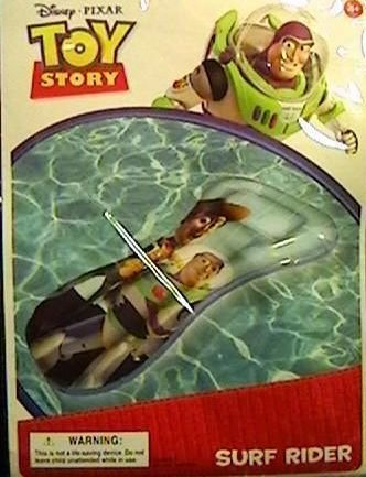 Disney Pixar Toy Story Inflatable Surf Rider - 1