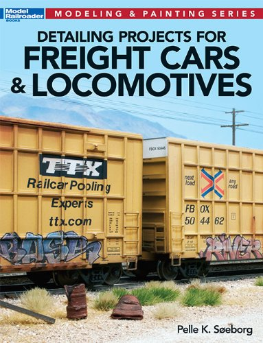 Detailing Projects for Freight Cars & Locomotives (Modeling & Painting Series) PDF