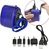 Dynamo Hand Crank Generator USB Cellphone Emergency Charger For MP3 PDA Samsung Picture