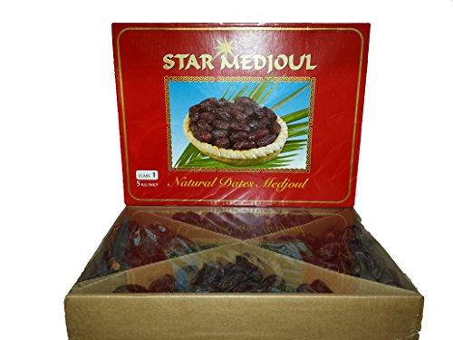 Medjool Dates, 11 Lbs. Display Box - We Got Nuts
