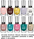 Sally Hansen Color Nail Polish Gift Sets (Salon Manicure, 10 Piece Set 3)