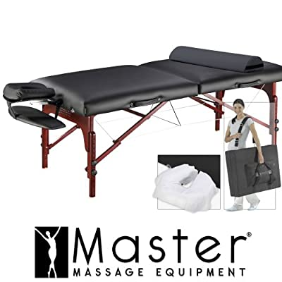"31"" MontClair Pro Portable Massage Table Package"