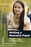 img - for Writing A Research Paper book / textbook / text book
