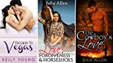 """3 Book Romance Bundle: """"Escape to Vegas"""" & """"Love, Forgiveness & Horseshoes"""" & """"The Cowboy's Love"""""""