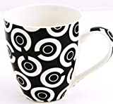 Sabichi Checkers Mug Black/White