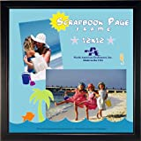 IMAGE OF North American Enclosures 8366-1212 Scrapbook Page Frame, Black, 12 by 12-Inch