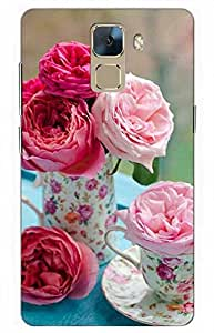 iessential love Designer Printed Back Case Cover for Huawei Honor 7