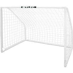 Buy Mylec Deluxe Soccer Goal, White, 72L x 60W x 48H by Mylec