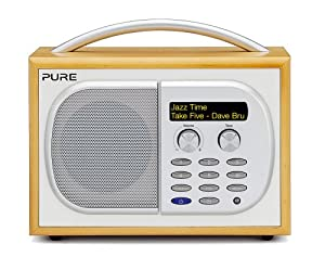 PURE EVOKE-1S Luxury Portable DAB/FM Radio - Maple (discontinued by manufacturer)
