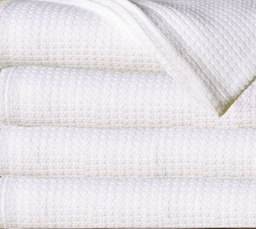 Best Prices! Sun Yin 100-Percent Cotton Full/Queen Blanket, White