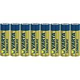 Varta Longlife Extra Alkaline Batterie AA Mignon 8er Pack