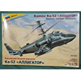 1 72 Komov KA-52 Alligator Combat Helicopter Model Kit Russian flying vertolet aviation by Zvezda