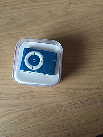 mini-lecteur mp3 clips en métal-NOIR