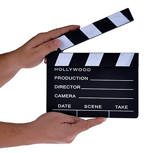 AFAITH� Wooden Director's Film Movie Slateboard Clapper Board SA011