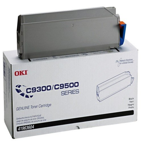 Okidata 41963604 Type C5 Black Toner Cartridge (15000 Page Yield)