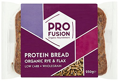 ProFusion - Protein Bread - Rye & Flax - 250g (Protein Bread compare prices)