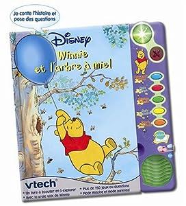 Vtech - Jouet 1er âge- Jouets Électroniques - Magi Livre Interactif Winnie l'Ourson