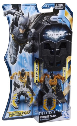Batman The Dark Knight Rises QuickTek Combat Claw Batman Figure