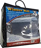 Lucky Dog Windscreen-Shade Kit for Sides of Dog Kennel., 57-Inch Wide by 34-Feet Long