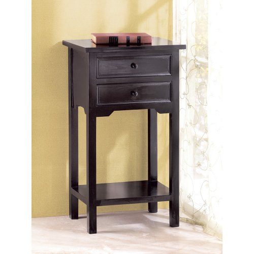 Bedside Table With Drawers 9682 front