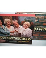 CORONATION STREET TREASURES CONTAINS REMOVABLE ITEMS AND AUDIO CD