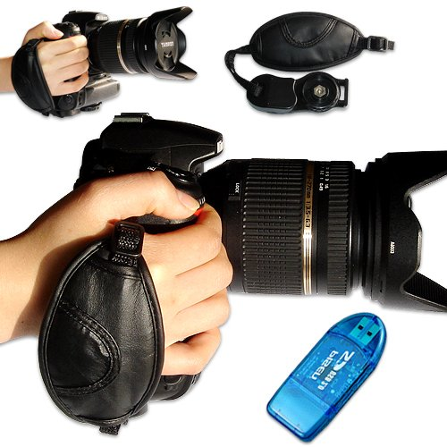 First2Savvv New Artificial Leather Digital Camera Slr Hand Strap Grip For Nikon D7000 D90 D5100 D5000 D3100 D3000 D700 D300S D3X D3S D800 D800E D3200 D4 D600 D5200 Coolpix P7100 Coolpix P510 Coolpix L310 Coolpix L810 Coolpix P520 Coolpix L820 Film Slr Cam