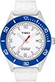 Timex Original Sports Men's Watch T2N535AU with Sports A White Dial And White Strap