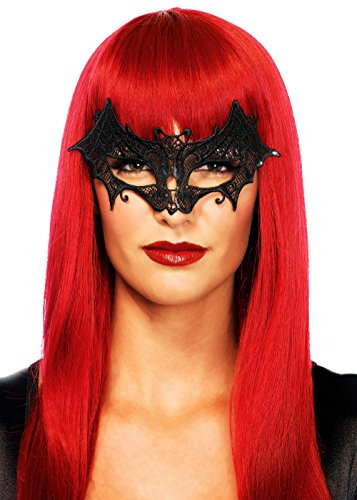Leg Avenue Women's Vampire Eye Mask Costume Accessory, Black, One Size