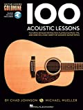 img - for 100 Acoustic Lessons - Guitar Lesson Goldmine Series (Book & Online Audio) book / textbook / text book