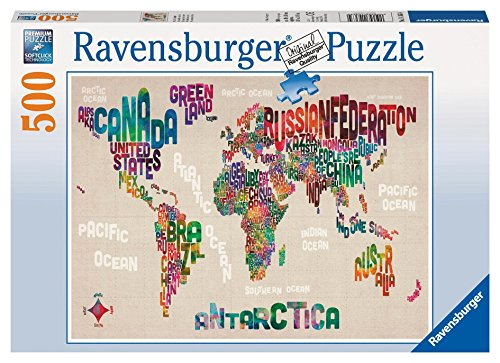Ravensburger World in Words - Puzzle (500-Piece)