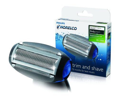 Philips Norelco Bodygroom Replacement Trimmer/Shaver Foil front-36967