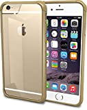 "iPhone 6 Case - PureView Clear Case for iPhone 6 (4.7"") by Silk - Ultra Slim Protective Crystal Clear Carrying Case (Champagne Gold)"