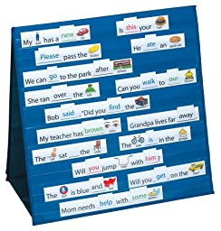 Smethport Tabletop Pocket Chart Sight Words  and  Sentences