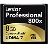 Lexar Professional CF Carte mémoire 800x UDMA 8 Go
