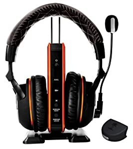 Turtle Beach Call of Duty: Black Ops II Tango Programmable Wireless Dolby Surround Sound Gaming Headset -