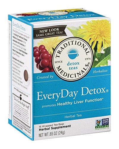 Herb Tea, Everyday Detox, 16 Bag ( Value Bulk Multi-Pack)