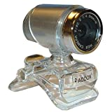 ADDON CA403 1.3 Mega Pixel Rotating Webcam for Skype VOIP MSN Silver