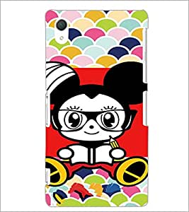 PrintDhaba Cartoon D-5744 Back Case Cover for SONY XPERIA Z2 (Multi-Coloured)