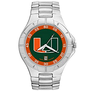 NSNSW22881Q-University of Miami Watch - Mens Pro Ii Ncaa Sport by NCAA Officially Licensed