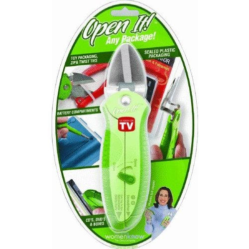 Zibra ZPCOPEN-GR Open It Universal Package Opener (Green)