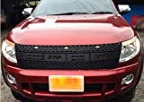 Ford New Ranger 2012/ 2013 Raptor Grille Grill with LED Lights 2014 Px UTE F150