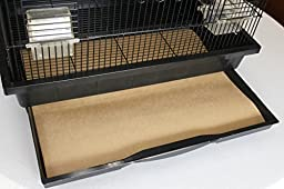 Bird Cage Liners - Medium Size Cages - Pick-Your-Size - 100 Count - 60 Pound Paper -18 x 20