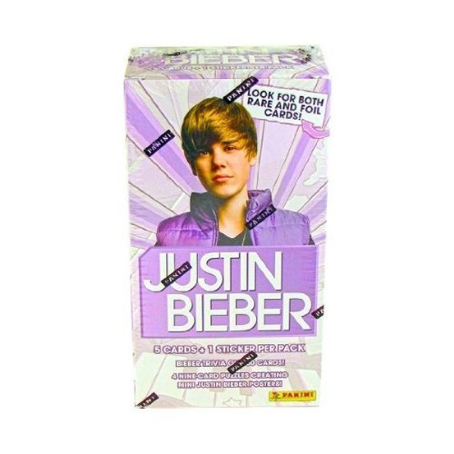 Justin Bieber Trading Cards Box (9 Packs) by Panini